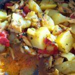 Bacalhau Guisado com Batatas