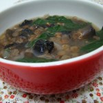 Sopa Rústica com Cogumelos