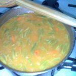 Sopa de Feijão Verde com Segurelha