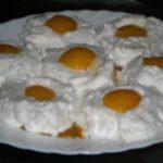 Doce dos Ovos Estrelados