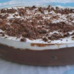 Mousse de Chocolate com Palitos de Champanhe