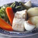 Bacalhau Cozido com Legumes