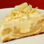 Cheesecake com Chocolate Branco