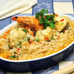 Arroz de Marisco com Tamboril (Algarve)