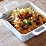 Arroz de Tomate e Amendoim, Aromatizado com Cominhos