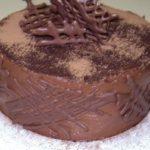 Bolo Chifon de Chocolate