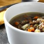Sopa Camponesa de Lentilhas