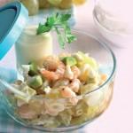 Salada com Gambas