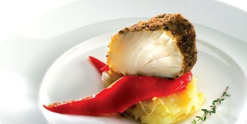bacalhau-frito-cogumelos