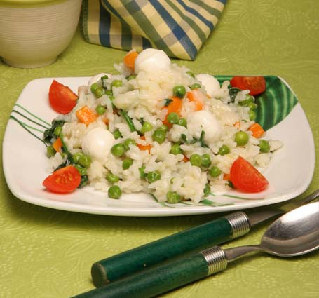 risoto-legumes-queijo-mozzarela