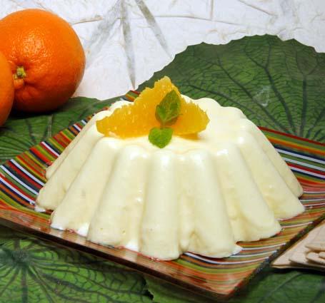 flan-laranja