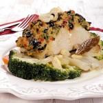 Bacalhau com Broa e Legumes
