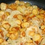 Batatas Coradas com Cebola