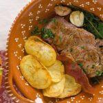 Bife de Vitela à Portuguesa