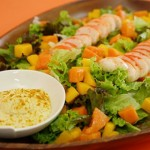 Salada Exótica de Delicias de Lagosta