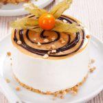 Semifrio de Amêndoa e Caramelo