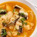 Sopa de Enguias