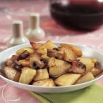 Batatas Assadas com Bacon