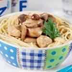 Peito de Frango com Esparguete