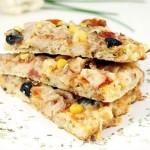 Pizza de Couve-Flor e Frango