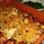 Bacalhau com Crosta de Frutos Secos