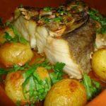 Bacalhau no Forno com Batatinhas