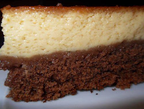 bolo-pudim-chocolate-baunilha
