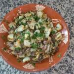 Lulas Grelhadas com Salsa