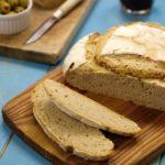 Pão Caseiro de Trigo e Centeio