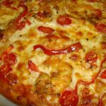 Pizza de Gambas