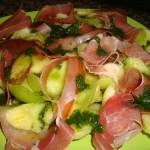 Salada de Meloa com Presunto