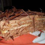 Semifrio de Chocolate com Bolacha
