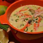 Sopa Exótica de Peixe e Aletria