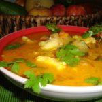 Sopa de Peixe com Caril