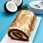Torta de Cacau e Côco