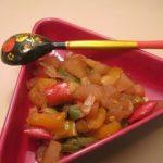 Chutney de Maçã com Pimentos