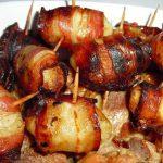Batatinhas Enroladas em Bacon