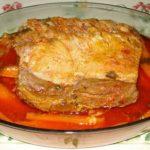 Lombo de Porco Estufado