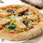 Pizza de Ovas de Bacalhau