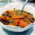 Sopa de Feijão com Mogango