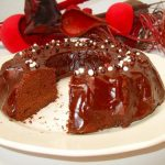 Bolo de Chocolate e Grão-de-Bico