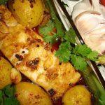 Bacalhau Assado com Pimenta