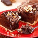 Bolo de Baunilha e Chocolate