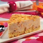 Cheesecake de Amêndoa