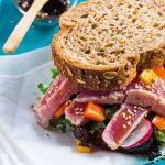 Sanduíche de Atum Grelhado