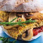 Sanduíche de Omeleta