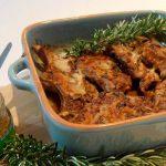 Costeletas de Borrego com Pasta de Azeitonas Verdes