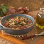 Sopa de Feijão e Cevada