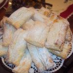Azevias de Massa Folhada com Batata Doce