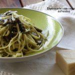 Esparguete com Cogumelos Salteados